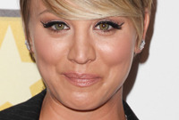 Celebrity-hairstyle-spotlight-kaley-cuoco-side